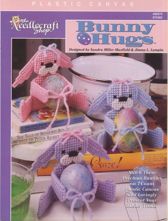 Plastic Canvas Bunny Hugs Patterns The Needlecraft Shop