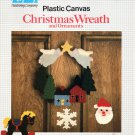 Plastic Canvas Christmas Wreath and Ornaments - Nifty Publishing