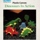 Plastic Canvas Dinosaurs in Action - Nifty Publishing