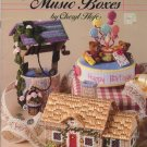 Plastic Canvas Music Boxes Patterns American School of Needlework 3069