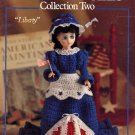 Holiday Dolls Collection Two - Leisure Arts Crochet Leaflet 856