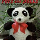 Toys and Dolls 8 Designs to Knit and Crochet Leisure Arts Leaflet 405