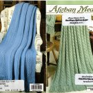 Afghan Medley to Knit - Leisure Arts little books - 75022