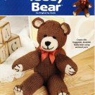Annie's Attic Knit Teddy Bear Pattern Book - 892691