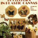 Butterflies in Plastic Canvas Leisure Arts Leaflet 1102