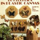 Butterflies in Plastic Canvas Leisure Arts Leaflet 1102