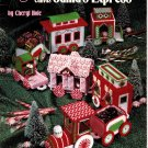 Plastic Canvas Santa's Express Patterns American School of Needlework 3077