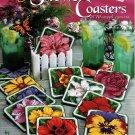 Plastic Canvas Flower Coasters Patterns American School of Needlework 3192