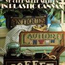 Ye Olde Shelf Sitters in Plastic Canvas Leisure Arts Leaflet 1249