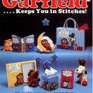 Garfield....Keeps You in Stitches! Millcraft Plastic Canvas Book GPB-1