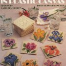 Floral Coasters in Plastic Canvas Leaflet 1107 Leisure Arts