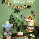 Plastic Canvas Christmas Treasures Patterns American School of Needlework 3044