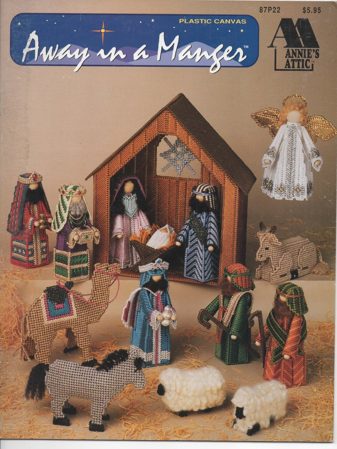 Plastic Canvas Away In A Manger Pattern Annie S Attic 87p22