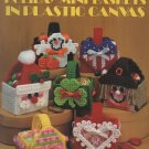 Holiday Mini Baskets in Plastic Canvas Patterns Leisure Arts Leaflet 1456