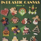 Holiday Magnets in Plastic Canvas Book 3 - Leisure Arts Leaflet 1432