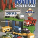 Plastic Canvas Mini Cars & Trucks Patterns - The Needlcraft Shop 913709