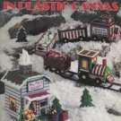 Santa Express in Plastic Canvas Leaflet 1322 Leisure Arts