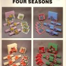 Plastic Canvas Four Seasons - Needlecraft Ala Mode Leaflet 156