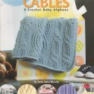 Shower of Cables 6 Crochet Baby Afghans - Leisure Arts #4636