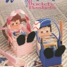 Annies Attic Plastic Canvas Musical Buddy Baskets Pattern Book 87M29