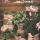 Annies Attic Plastic Canvas Pretty Plant Pot Covers II Patterns - 87G26