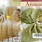 Luxurious Afgans - 4 Crochet Designs - Leisure Arts little books - 75104