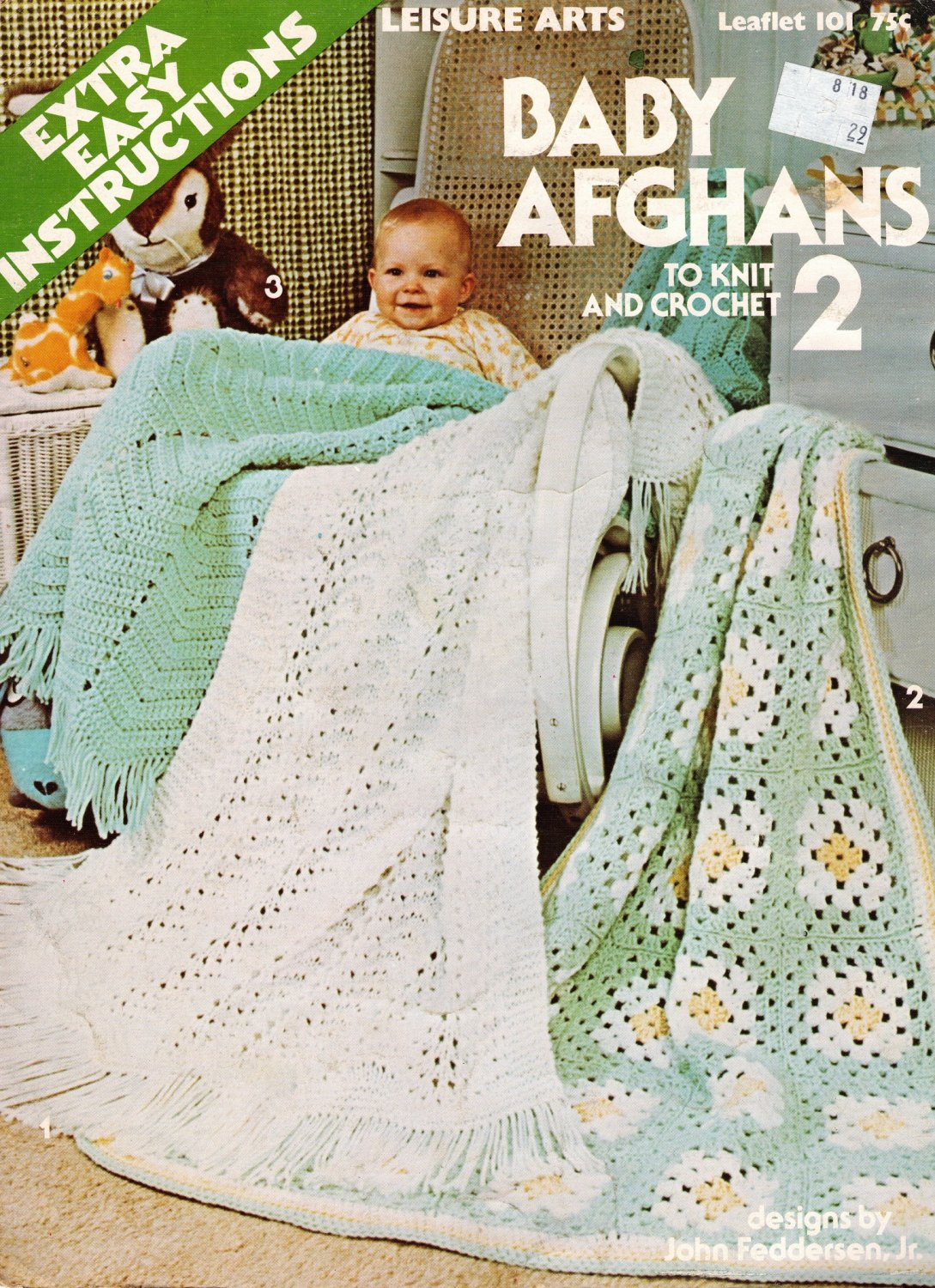 Baby Afghans To Knit And Crochet 2 Leisure Arts 101