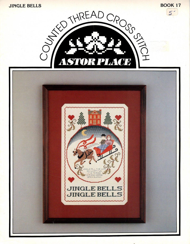 Jingle Bells - Cross Stitch Book - Astor Place Book 17