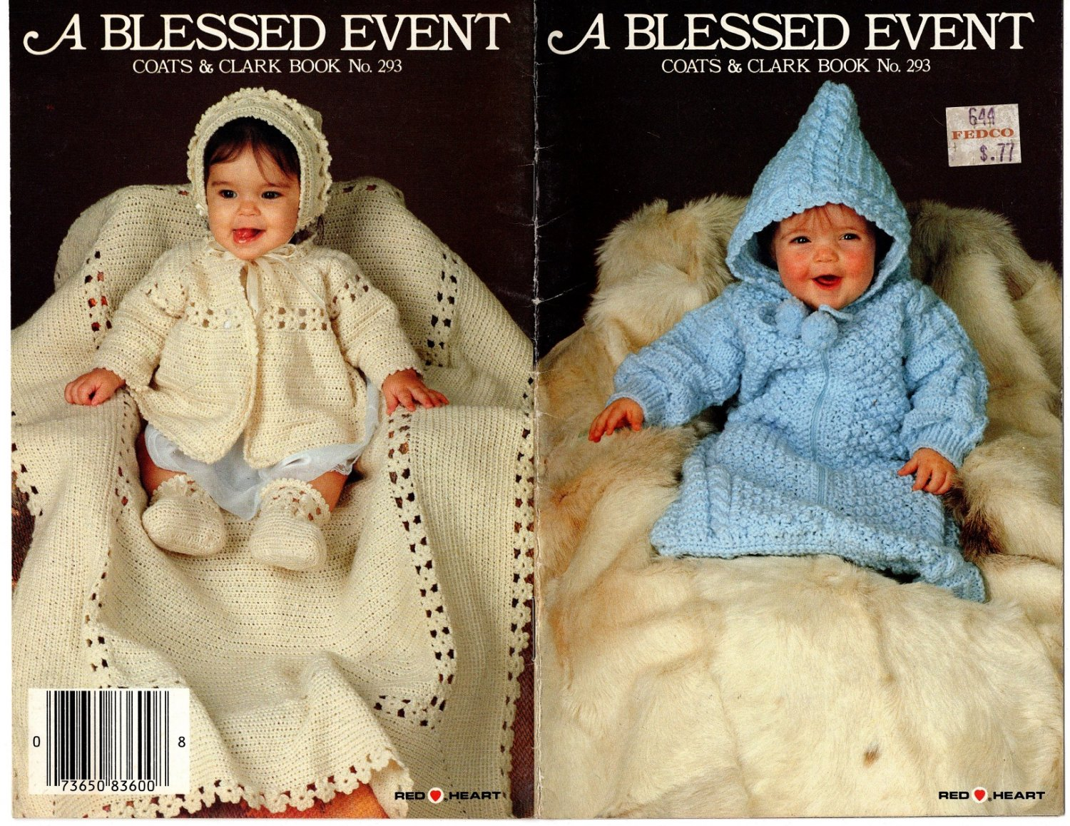 A Blessed Event - 6 Patterns - Coats & Clark - Book No. 293