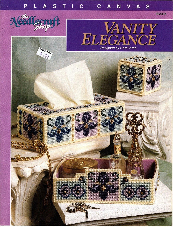 Plastic Canvas Vanity Elegance Pattern - The Needlecraft Shop 903305