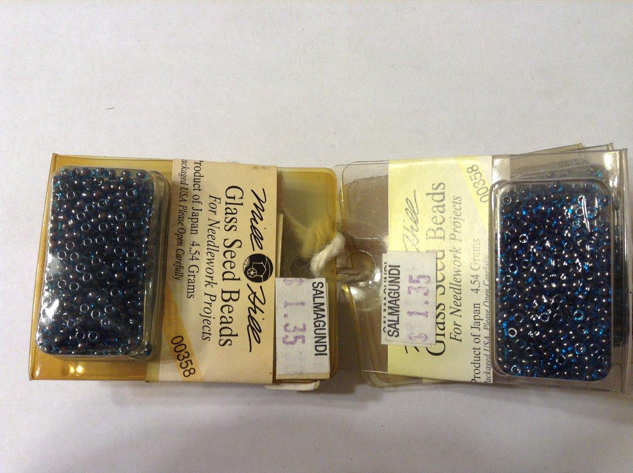 Mill Hill 00358 Cobalt Blue Glass Seed Beads - 11/0