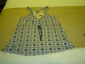 Large Blue Vintage Top