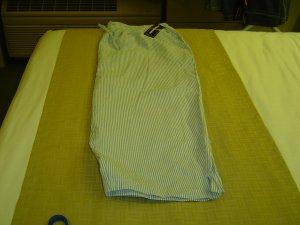 sz 3X L Blue&White Striped Pants
