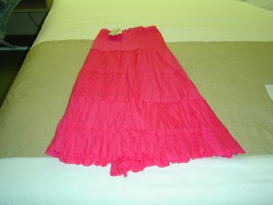 sz 3X skirt rose Colored