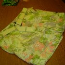sz 14 Belted Shorts floral pattern