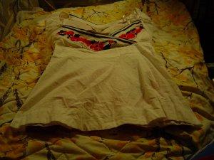 Nwt sz S white/red/black top