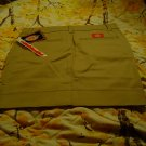 Nwt sz 0 Khaki Stretch Mini Skirt
