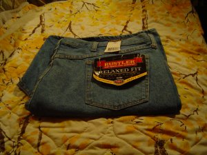 NWT sz 50 Mens Denim Shorts Rustler