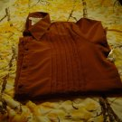 NWT sz 22 Womens Plus Brown Blouse