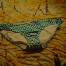 NWT XL Lg American Eagle Blue Heart Swimwear Bottoms