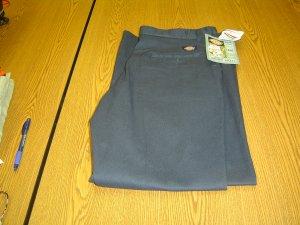 NWT sz 12 Regular Womens twill blue Dickies Work Pants Scotch Guard
