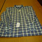 NWT sz 8 Classic Fit Plaid wrinkle free Womens shirt