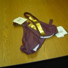 NWT sz 6 2 Piece Brown Gold Bathing Suit