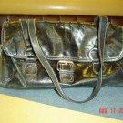 Berninni Black Leather HandBag $75.00 FREE SHIPPING