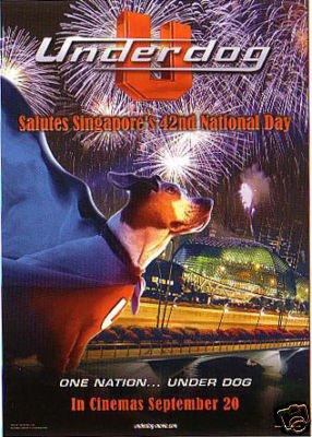 2x Underdog Disney Movie Promo Postcard