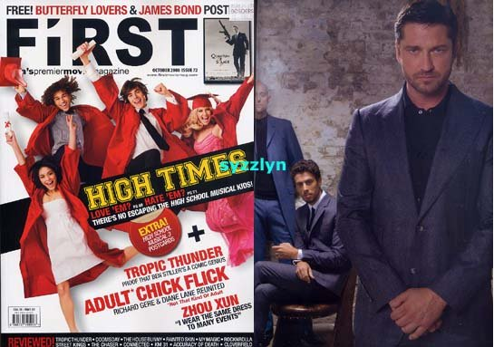 Asia Mag High School Musical Zac Efron Gerard Butler