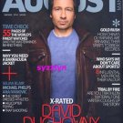August Mag Asia DAVID DUCHOVNY Jude Law MINT RARE!