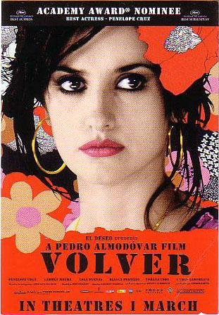 2 VOLVER Penelope Cruz Movie Promo Postcard