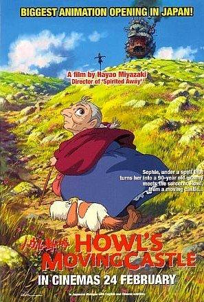 2x HOWL'S MOVING CASTLE Hayao Miyazaki Movie Postcard