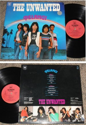 Malaysia THE UNWANTED Psych Rock Malay CBS LP #107 (206)